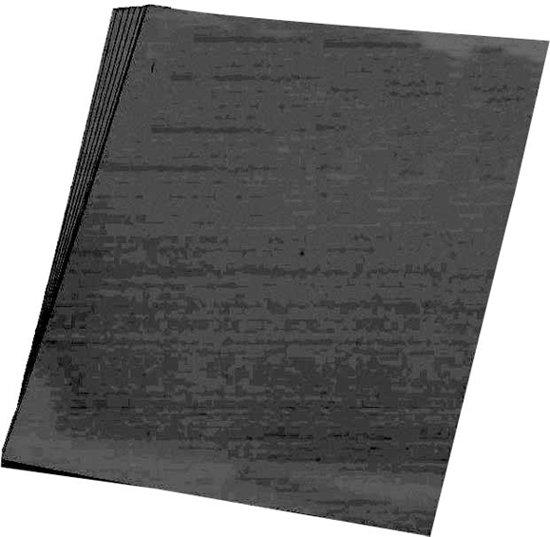 50 vellen zwart A4 hobby papier