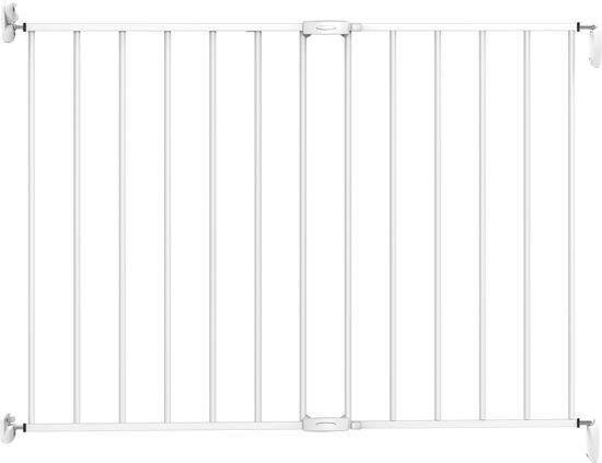 Noma Wall Fix Metal - Traphekje (62 - 102 cm) - Wit