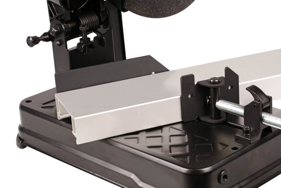 FERM COM1007P Professionele Afkortmachine - 2300W - 355mm - Dieptestop - Incl. 4m rubberen kabel