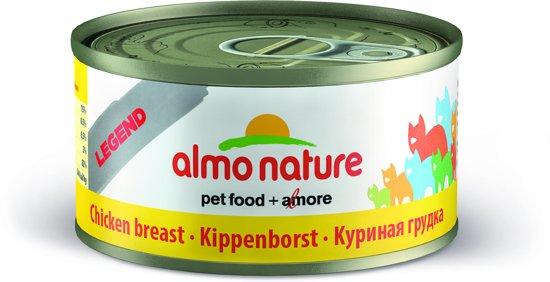 Almo Nature Legend - Kippenborst - Kattenvoer - 24 x 70 g
