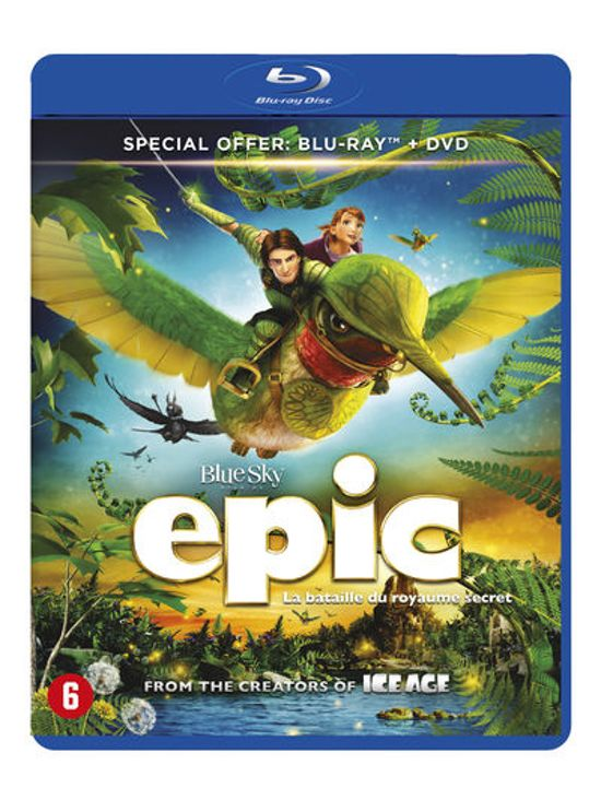 DVD cover van Epic (Blu-ray)