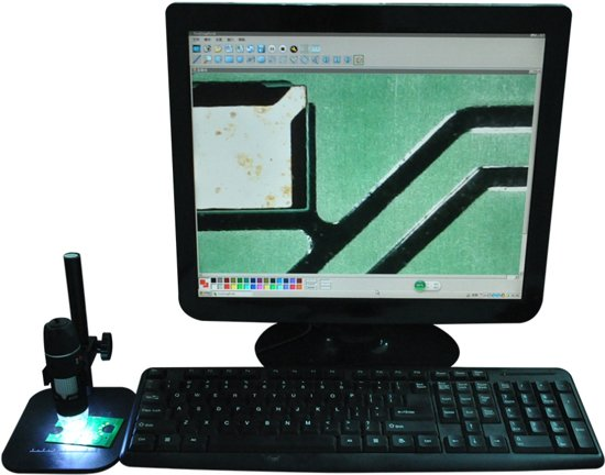 bol.com   Digitale USB Microscoop Camera - Met LED Verlichting - 500 ...