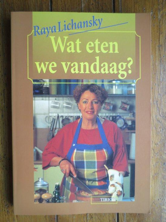 Boek Wat Eten We Vandaag R Lichansky Pdf Motedoquar