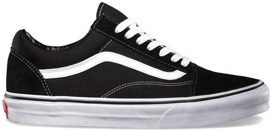 Fourgons Noirs Classiques Vieilles Chaussures Skool Taille 36 Hommes Classique De r20ETkx