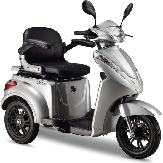 IVA E1000 Scootmobiel Zilver