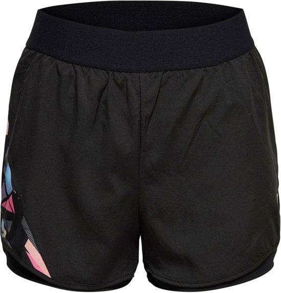 Only Play Pyra Running Short  Sportbroek - Maat M  - Vrouwen - zwart/wit/roze/blauw