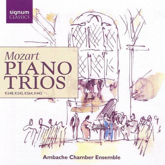 Piano Trios: K548,542,564,442
