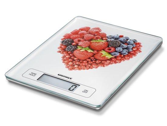 Soehnle 66311 5 Tafelblad Rechthoek Elektronische keukenweegschaal Wit