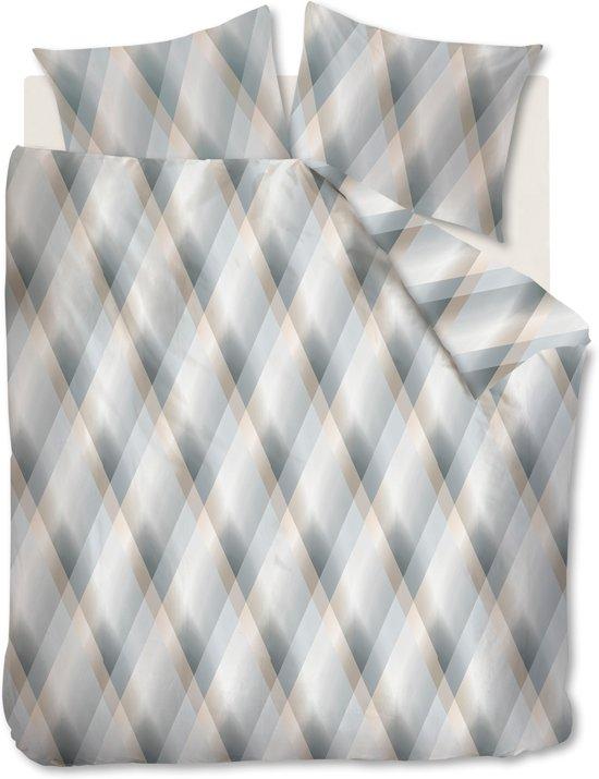 Beddinghouse Manu - Dekbedovertrek - Tweepersoons - 200x200/220 cm + 2 kussenslopen 60x70 cm - Grijs