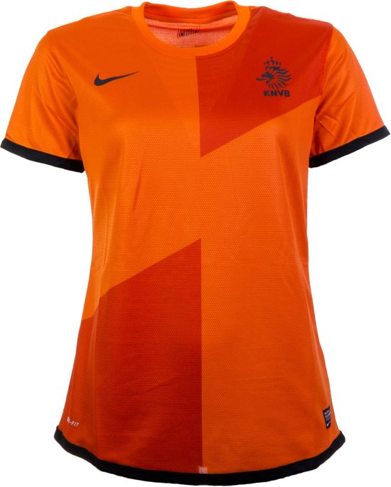 0527b0a02b6 Nike Nederlands Elftal Thuis Shirt Damesheeft Sportshirt - Maat S - Vrouwen  - oranje