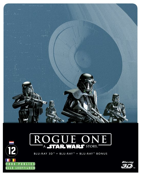 Rogue One : A Star Wars Story Steelbook edition (Blu-ray + 3D Blu-ray)