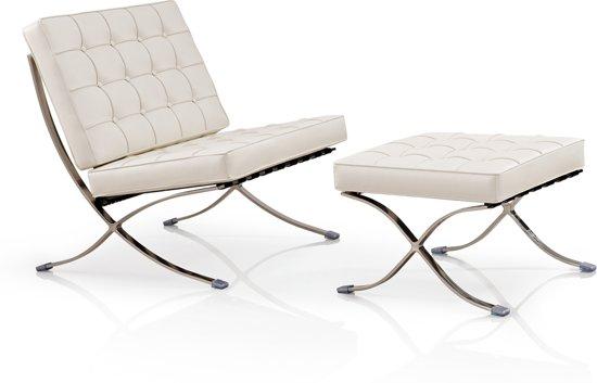 Barcelona Chair Met Ottoman