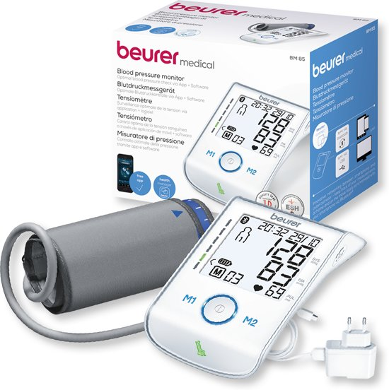 Beurer - BM85 Bloeddrukmeter bovenarm - Beurer Connect