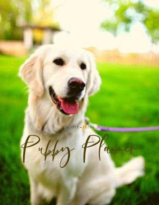 2019 2020 15 Months Puppy Dog Daily Planner: Academic Hourly Organizer In 15 Minute Interval; Appointment Calendar With Address Book, Password Log & N