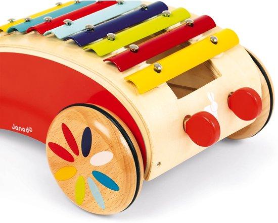 Janod Tatoo Xylofoon Roller