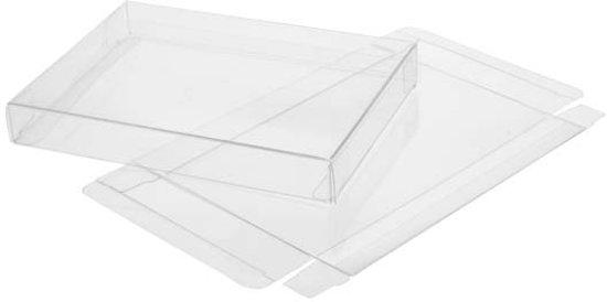 Plastic doosjes kristalhelder 25 for Plastic doosjes