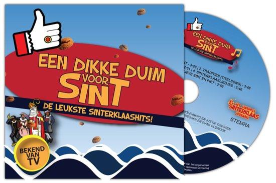 Een dikke duim voor Sint - De leukste sinterklaashits! + gratis stickerboekje en stickervel