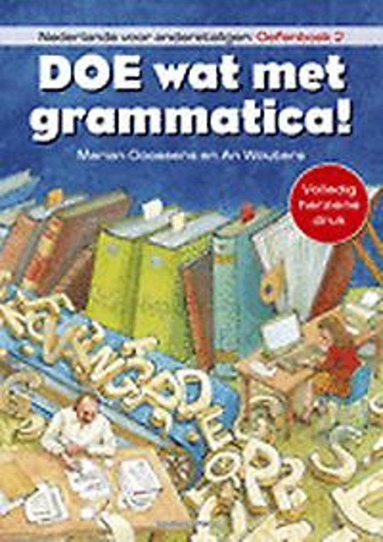 Afbeelding van Doe wat met grammatica! Oefenboek 2