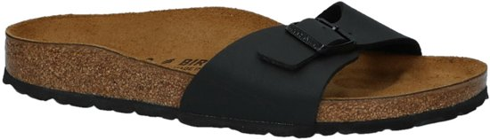 Birkenstock Madrid Dames Slippers Small fit - Black - Maat 42