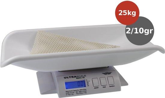 My Weigh babyweegschaal Ultra 25 kg x 2gr/10gr