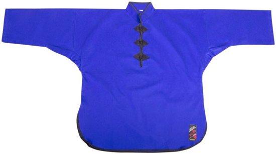Kung Fu jas. blauw