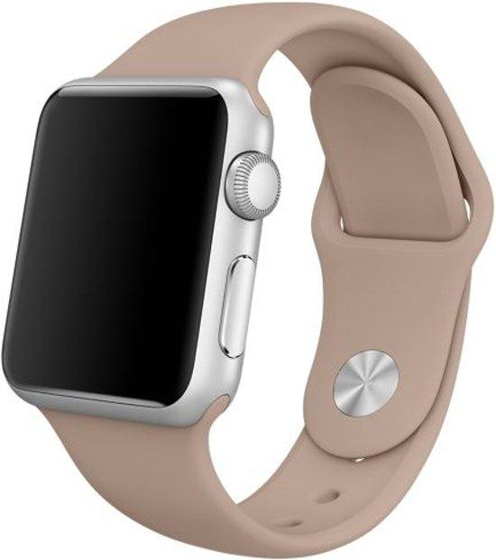 123Watches.nl bandje - Apple Watch Series 1/2/3/4 (42&44mm) - Walnoot - M/L
