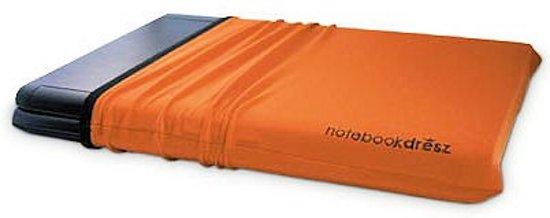 notebook dresz - rekbare beschermhoes voor laptops / tablets. Beschermt tegen krassen. Voor 15.6 inch laptops. Oranje.