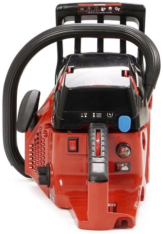 Timberpro Pro - Kettingzaag - Benzine - 62 cc - Zwaardlengte 50 cm - Met transportzak - Met 2e ketting