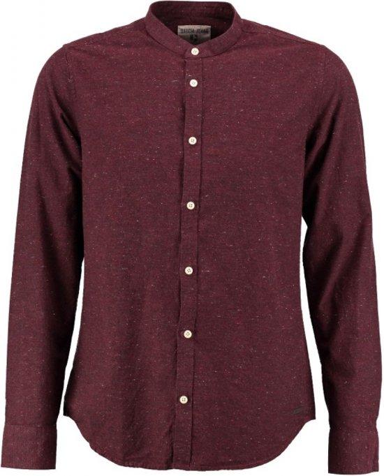 Bordeaux Overhemd.Bol Com Garcia Stevig Zacht Bordeaux Overhemd Maat S