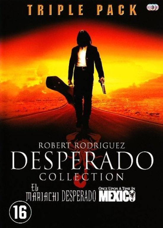 DVD cover van Desperado Colleciton - Triple Pack