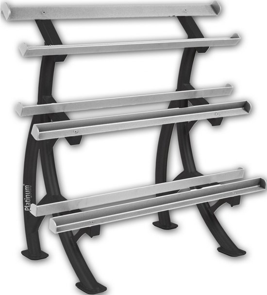 Tunturi Platinum Dumbbell Rack - Dumbbell Rek
