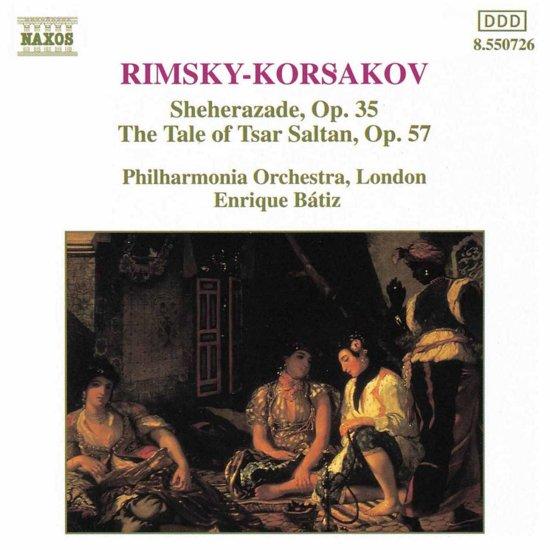 Rimsky-Korsakov: Sheherezade, Tsar Saltan / Enrique Batiz