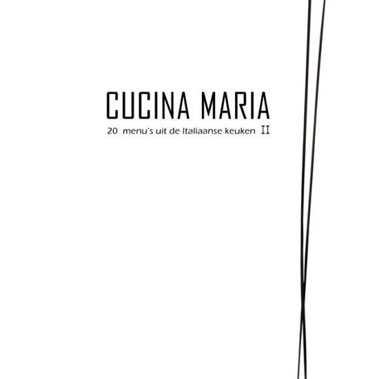 Cover van het boek 'Cucina Maria II'