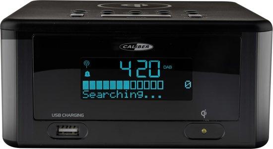 Caliber HCG010QIDAB-BT - Wekkerradio met bluetooth en Dab+ ontvangst - Zwart