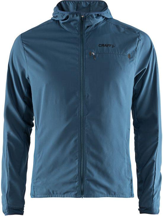 Craft Urban Run Hood Jacket Sportjas Heren - Fjord