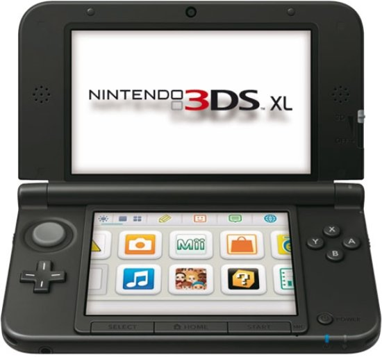 Nintendo 3DS XL Zwart + Zilver