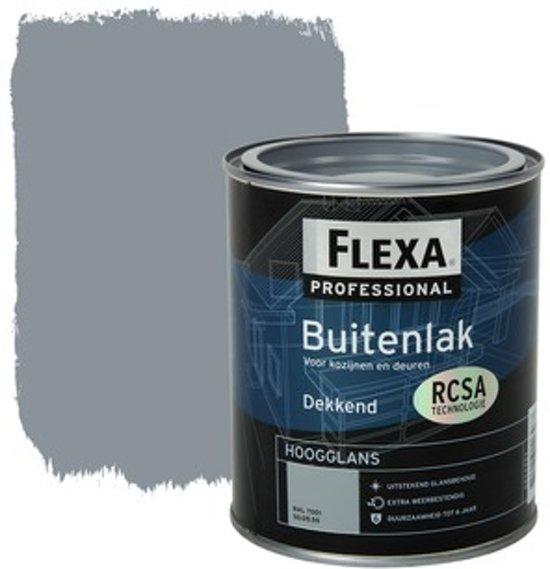 Flexa Professional Buitenlak Dekkend Halfglans Ral 7001 750 Ml