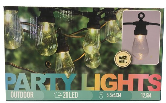 Feestverlichtig 20 lamps