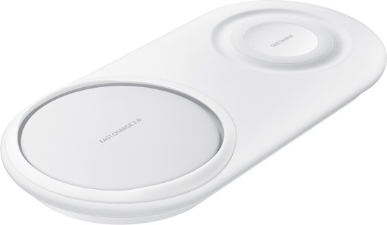 Samsung Wireless Duo Charger - Draadloze oplader - Wit