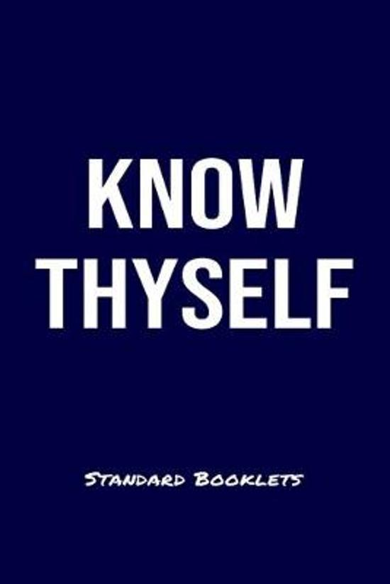 Know Thyself Standard Booklets: A softcover fitness tracker to record four days worth of exercise plus cardio.