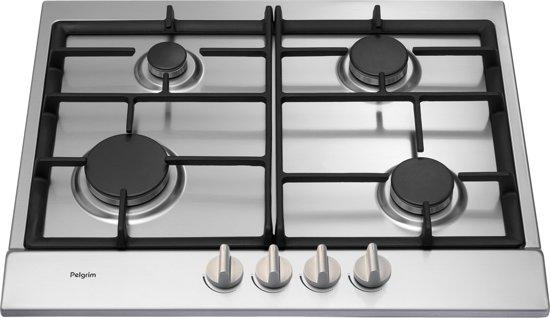 Betere bol.com | Pelgrim GK427RVSA - Inbouw Gaskookplaat RU-45
