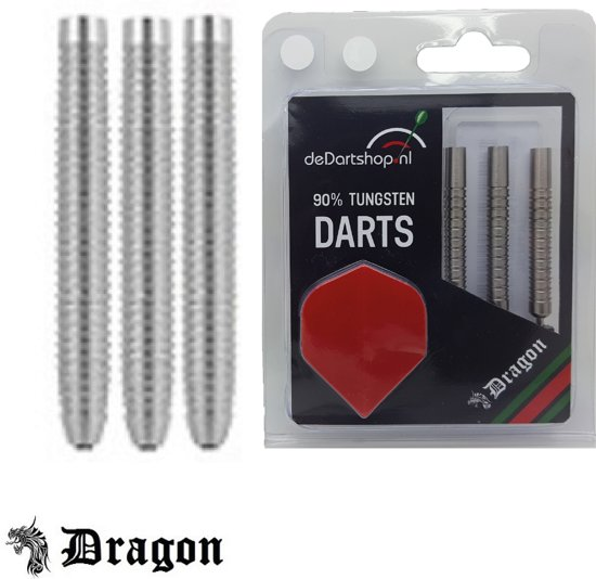 Dragon Darts Shark Grip Professional 90% Tungsten  darts pijlen - 22 gram - dartpijlen