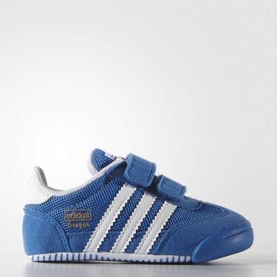 adidas dragon wit blauw