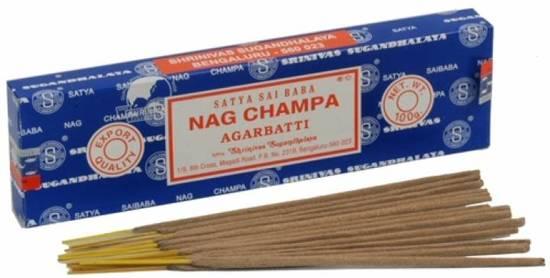 Nag Champa Wierook.Satya Nag Champa Wierook 100 Grams
