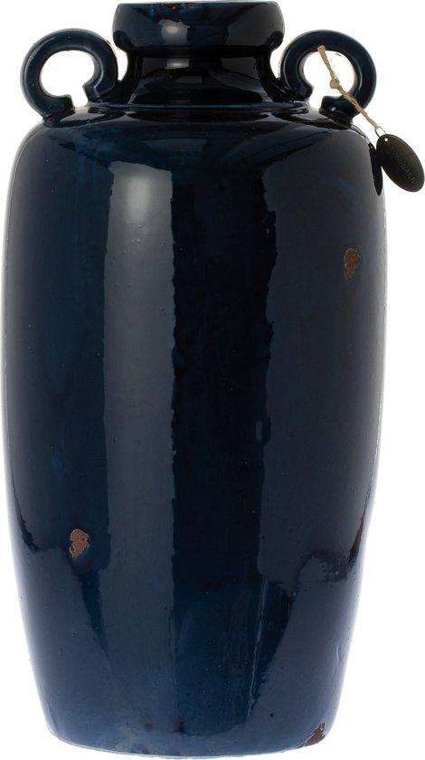 Kruik Saintes dark blue 58cm