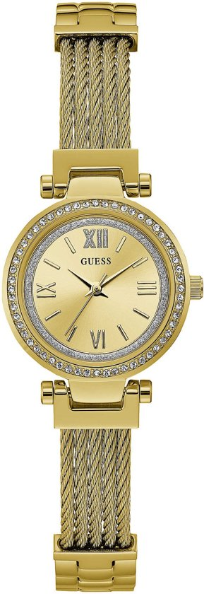 GUESS Watches W1009L2 RVS Goudkleurig