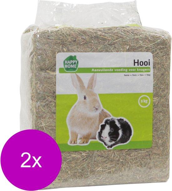 Happy Home Weidehooi - Ruwvoer - 2 x 5 kg