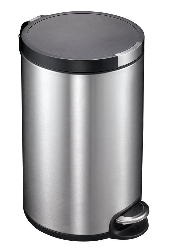 Eko Pedaalemmer 5 Liter.Eko Pedaalemmer 12 L Mat Rvs