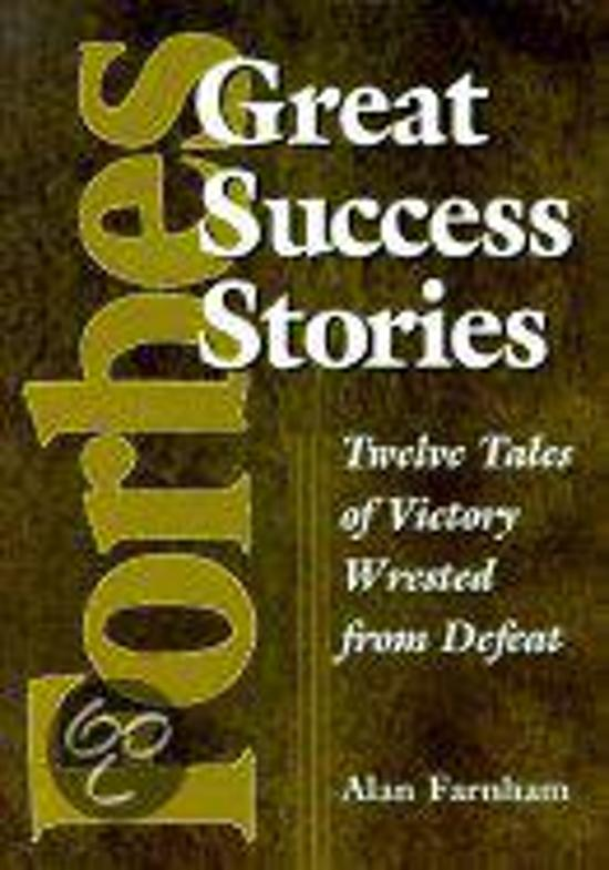 Forbes Greatest Success Stories