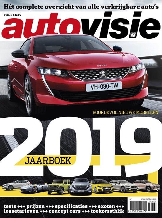Bol Com Autovisie Jaarboek 2019 Telegraaf Mediagroep